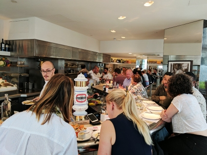 Barrafina, Covent Garden: Lunch crowd