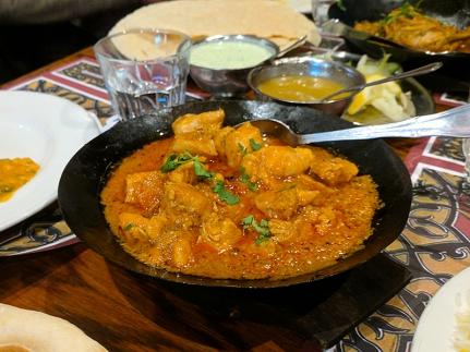 Tayyabs: Karahi chicken