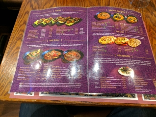 Tayyabs: Menu