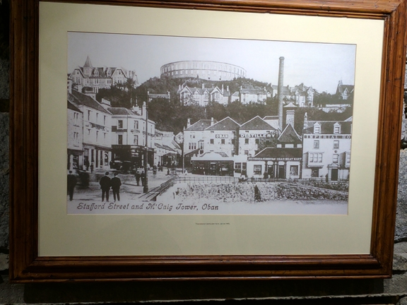 Oban: The distillery as photographed in 1905