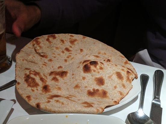Ajanta: Tandoori roti