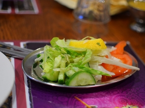Tayyabs: Salad