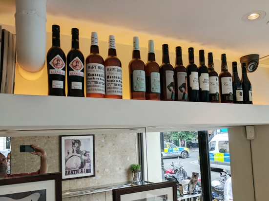 Barrafina, Covent Garden: Sherries