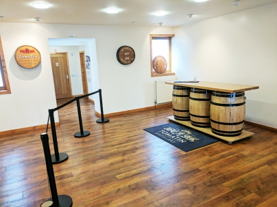 Tomatin: Tasting area (presumably)