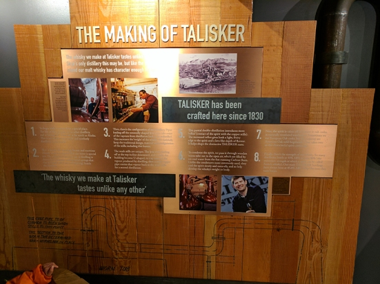 The making of Talisker
