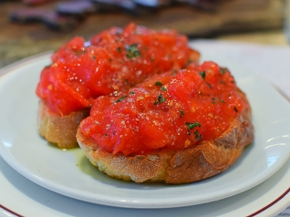 Barrafina, Covent Garden: Pan con Tomate