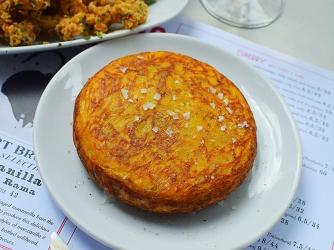 Barrafina, Soho: Classic tortilla