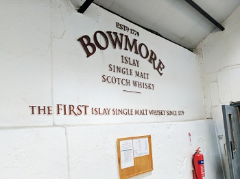 In case you've forgotten that they're the oldest distillery on Islay