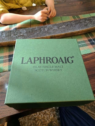 Laphroaig, Distillers' Wares: Presentation box