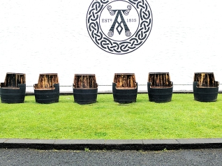 Ardbeg: Repurposed casks