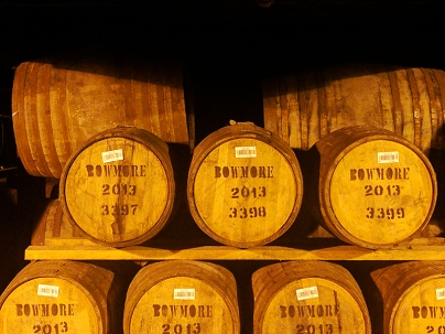 Bowmore: More casks
