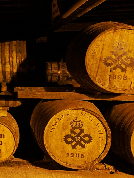 Bowmore: Yes, these are also casks