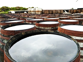 Ardbeg: Disused casks