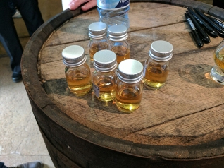 Laphroaig, Distillers' Wares: Drivers' samples