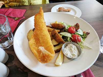 Cuchullin: Fish and chips