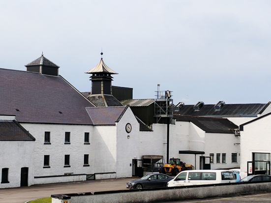 Laphroaig: From the parking lot