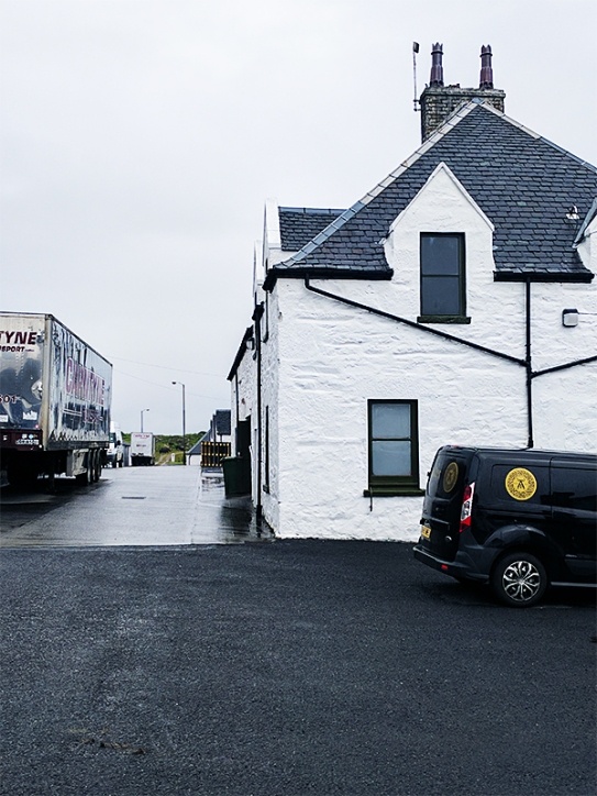 Were these trucks taking casks to the mainland?