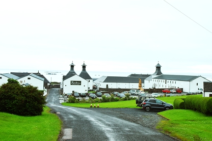 Ardbeg: The grounds and the sea beyond