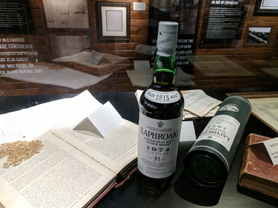 Laphroaig: An old whisky distilled in another era
