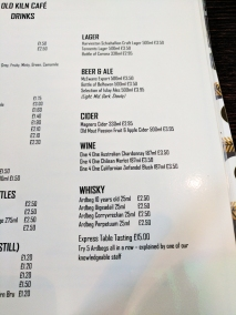 The Old Kiln Cafe: Drinks