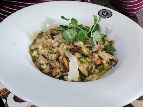 The Old Kiln Cafe: Risotto