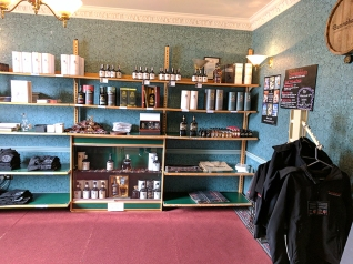 The shop itself was okay, though not much effort seems to have gone into designing it.