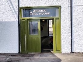 Ardbeg: Still house