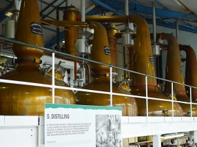 Laphroaig, Distillers' Wares: Stills