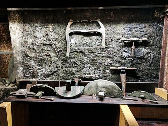 Bowmore: These are old tools I think