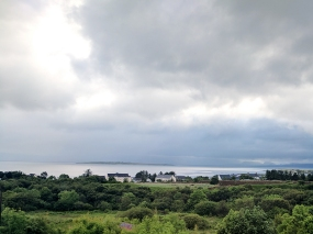 Hillview: The view from our room of Broadford Bay