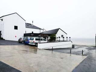 Bowmore: The visitor centre and Loch Indaal