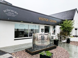 Bowmore: The shiny visitor centre