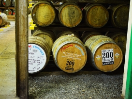 Laphroaig, Distillers' Wares: Casks signed by rich people