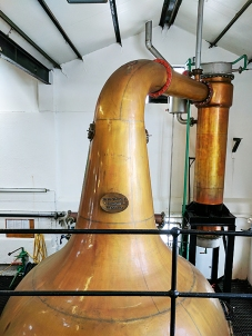Bowmore: Wash still #2