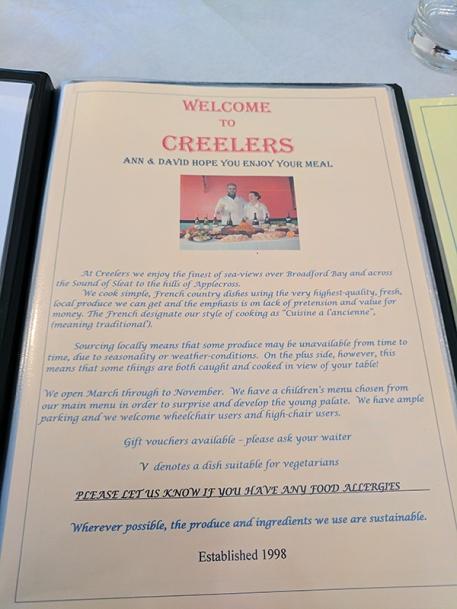 Creelers: Welcome