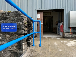 Kilchoman: Bottling hall
