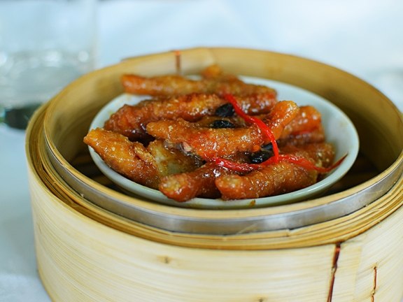 And the chicken feet were excellent too.