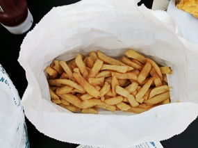 This is one side order of chips.