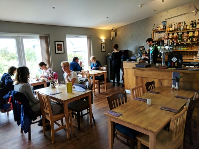 The Claymore: Main dining room