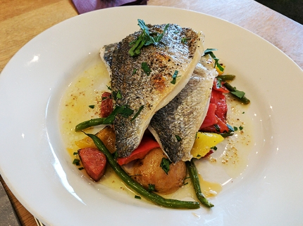 The Claymore: Grilled sea bream