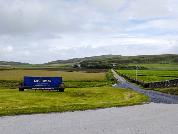 Kilchoman: Approaching the distillery
