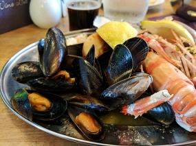 The Claymore: Mussels