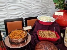 Cinnamon Lounge: Pasta salad, coleslaw