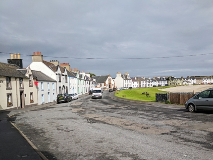 The mean street of Port Ellen.