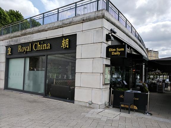 Royal China, Canary Wharf