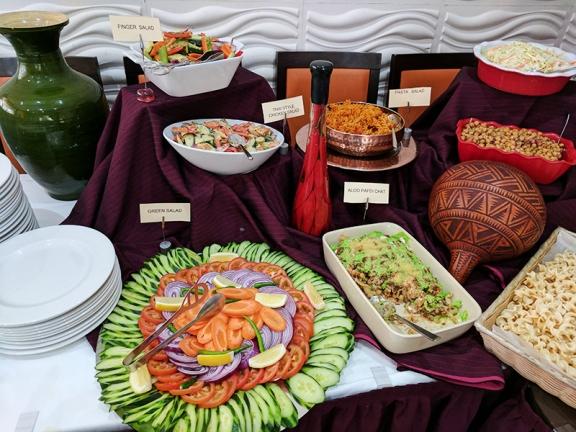 Cinnamon Lounge: Salads