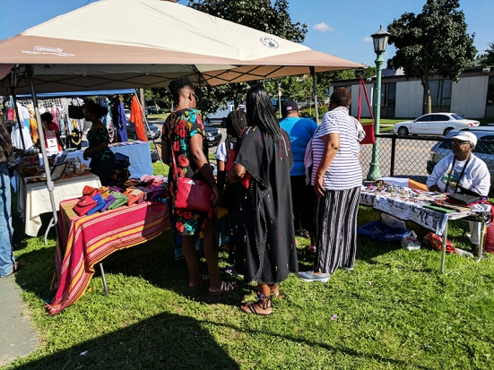 4th Annual Little Africa Fest: Another stall