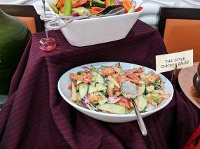 Cinnamon Lounge: Thai chicken salad