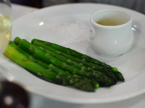 St. John: Asparagus and hot butter