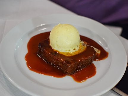 St. John: Bread pudding and butterscotch sauce